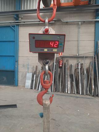 Bascula industrial de pesaje