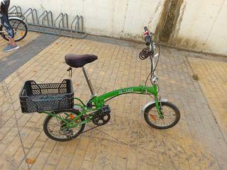 """bicicleta plagable 16"""""""