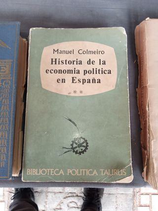 historia de la economía política en España