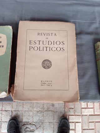 revista de estudios políticos 1941