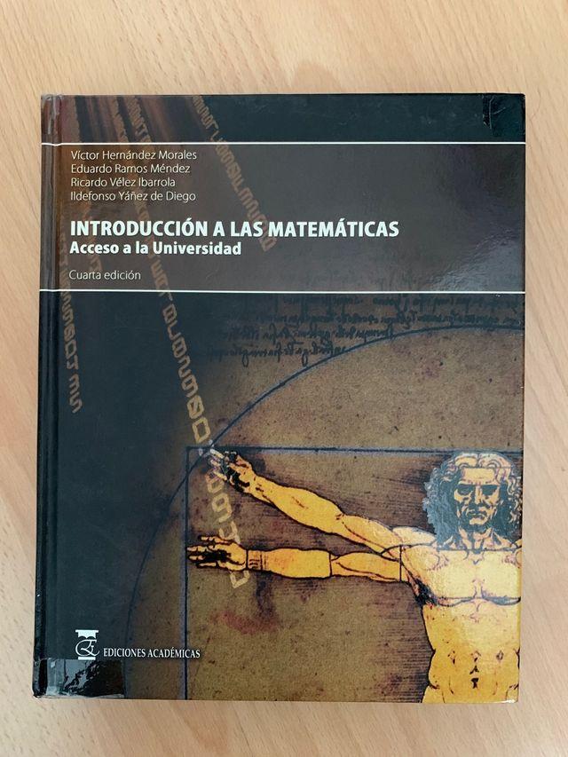 Introducción a las matemáticas acceso universidad