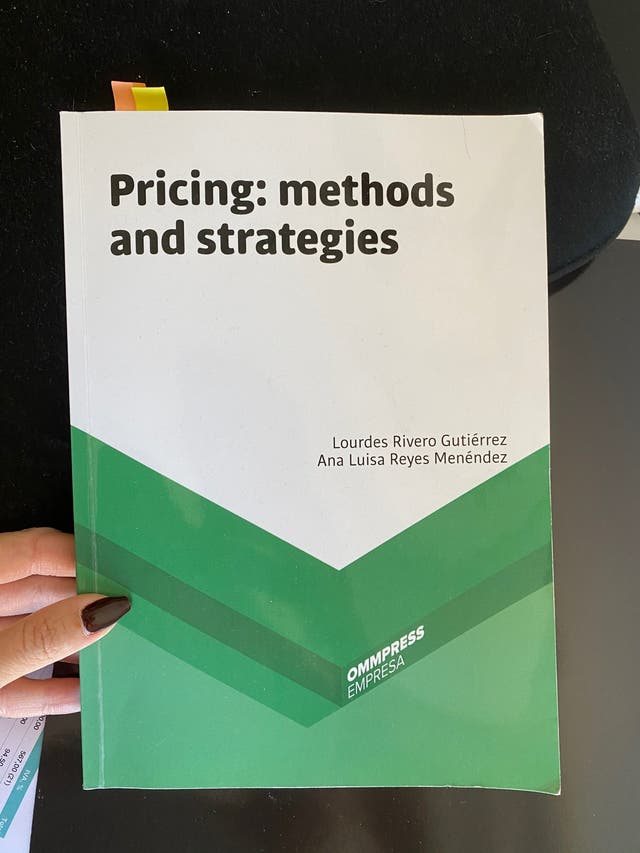 Pricing: methods and strategies