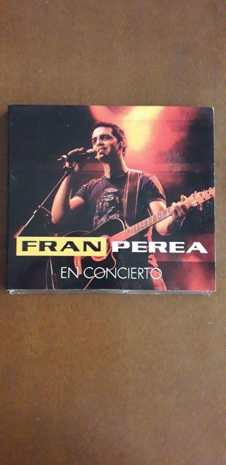 Fran Perea en concierto