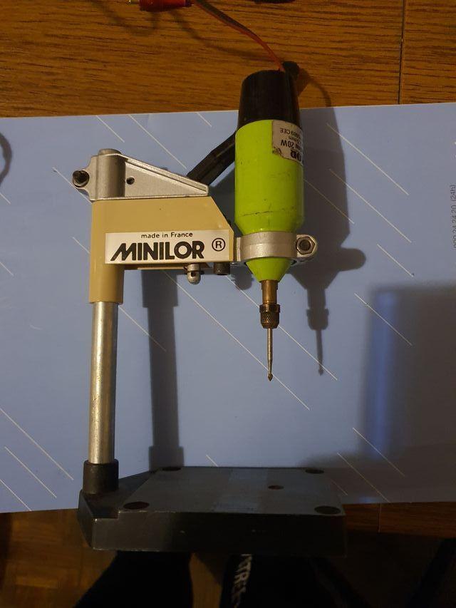Mini Taladro / Dremel con soporte