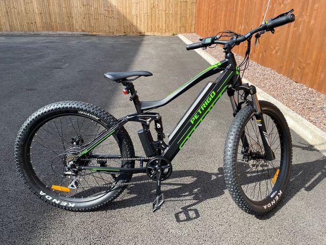 Electric Mountain Bike 36V 350W Suspension New