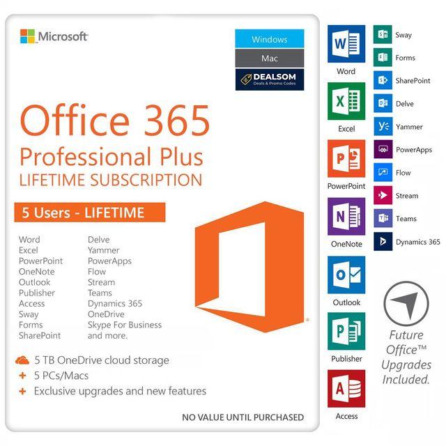 Office 365 Pro Plus Lifetime Subscription - SALE