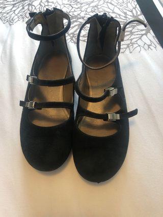 Zapatos de niña nanos