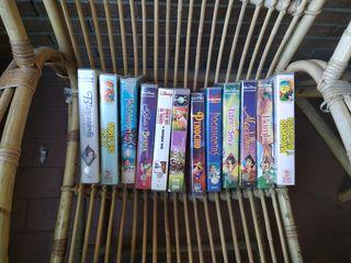 Películas Disney y más vhs video