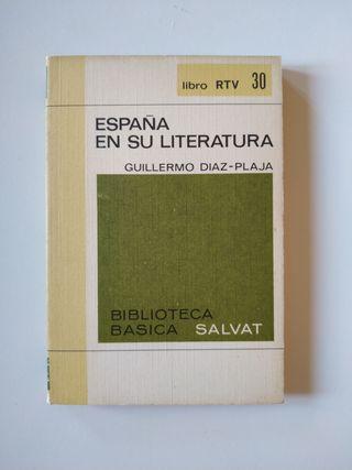 4x5€ - España en su literatura - Diaz-Plaja