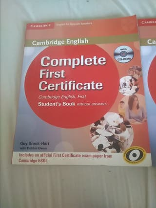 Complete First Certificate + Workbook