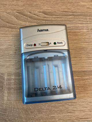 Cargador de batería AA