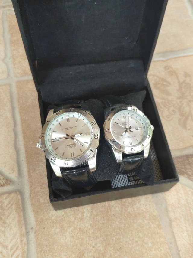 Relojes hombre y mujer Roberto Torreta