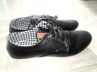 Faux Leather Casual Shoes Size 10