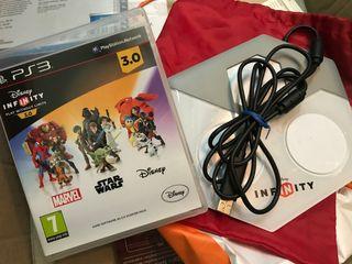 Disney Infinity 3.0 PS3 y base.