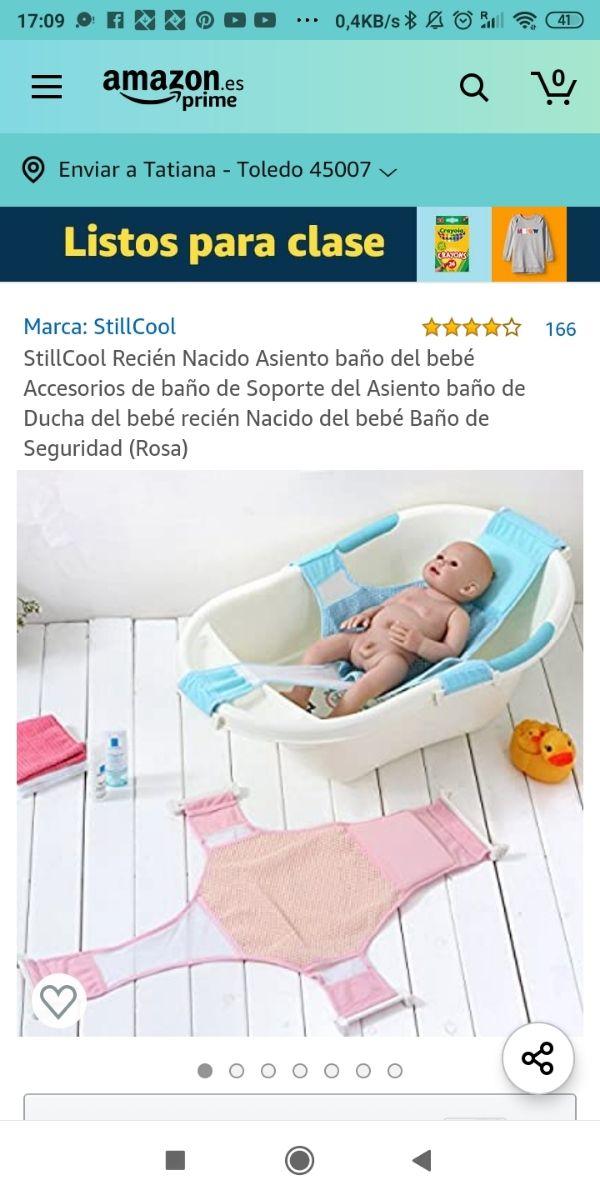 soporte para bañera del bebe