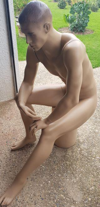 maniquí hombre