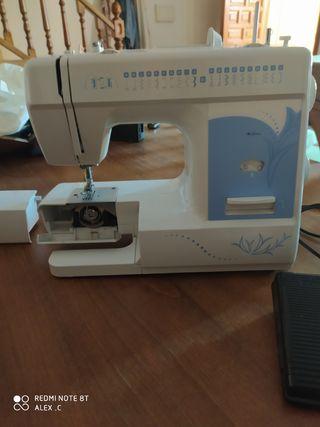 remalladora + maquina coser