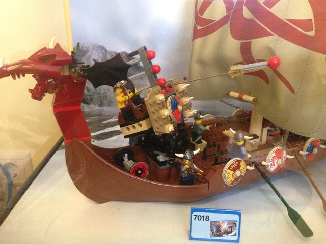 Expositor Lego Bionicle