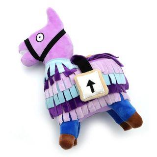 Peluche Fortnite piñata llama lila 20cm caballo