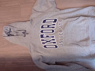 sudadera oxford university gris