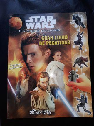 Libro de pegatinas Star Wars