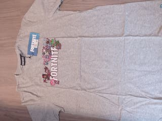 camiseta Fortnite gris nueva