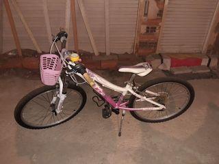 Bicicleta coluer niña