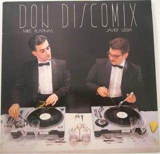 Disco vinilo LP DON DISCOMIX de 1986