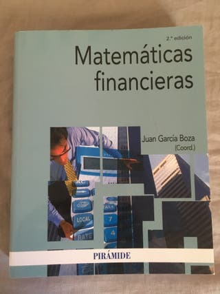 Matemáticas Financieras 2ª edición edit. Pirámide