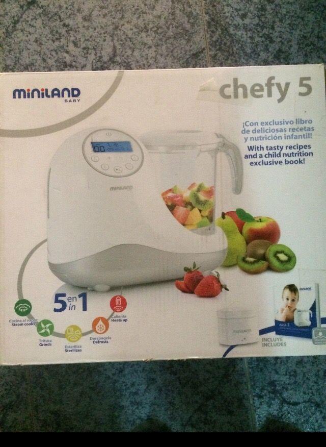 Robot de cocina Chefy 5