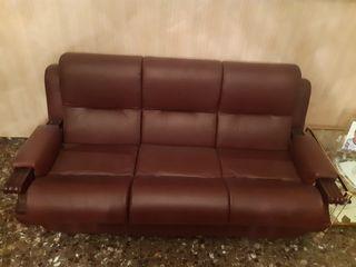 Sofa 3 plazas i 2 sillones