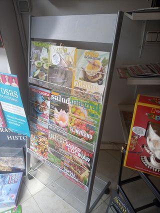 expositor de revista