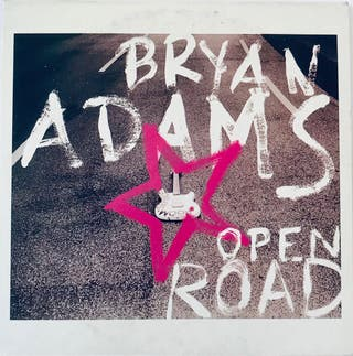 CD Single Bryan Adams Open Road