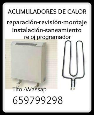 TECNICO ACUMULADOR DE CALOR-SERVICIOS