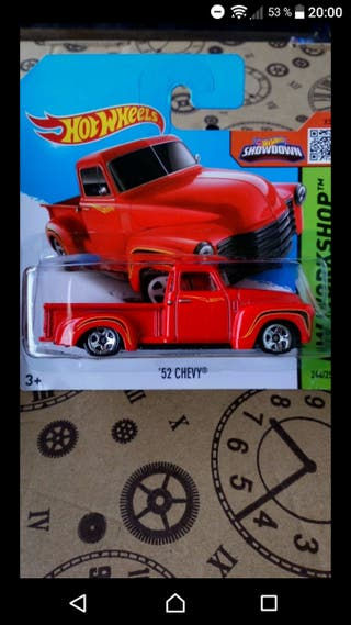 '52 Chevy Red Hot wheels 2015
