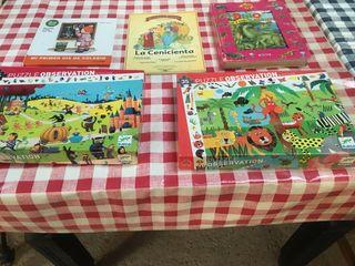 Puzzles y libros