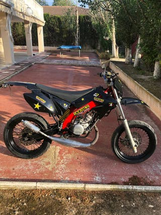 Motor hispania 49cc moto supermotard 2t
