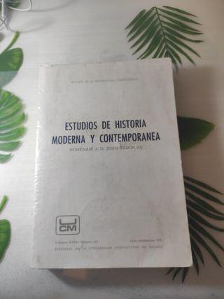 Estudios de Historia Moderna y Contemporanea