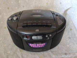 (AIWA) COMPACT DISC STEREO RADIO CASSETTE RECORDER