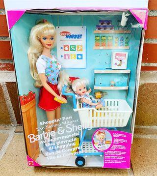 Barbie y Shelly van de compras nueva