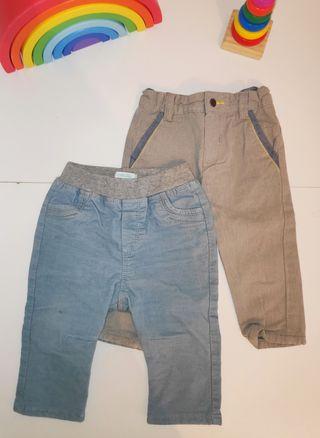 Pack 2 pantalones Obaïbi bebé