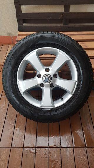 Llantas Volkswagen Touareg + neumáticos nieve