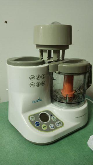 Nuvita Mini Robot de Cocina y Calientas Biberones