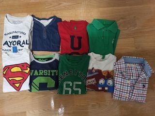 Paquete camisetas manga larga 3-4 años
