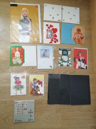 24 tarjetas variadas