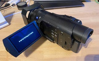 Videocámara profesional 4k Sony fdr-ax100