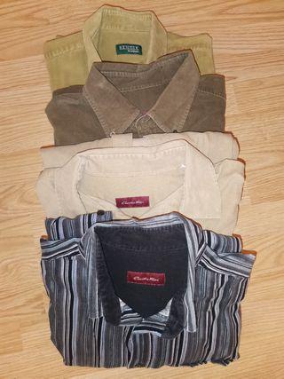 Lote Camisas Pana