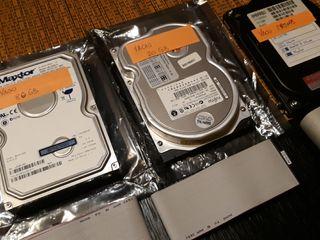 Lote 3 discos duros para sobremesa