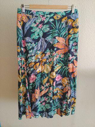 #falda larga flores#Springfield