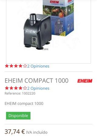 Bomba acuario compact 1000 Eheim